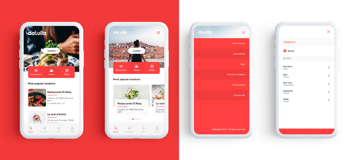 Visual identity and app design - Page Agency