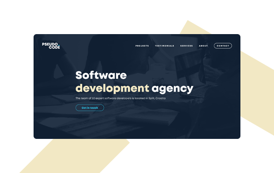 Visual identity and website design - Page Agency